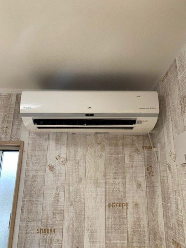 新築エアコン工事