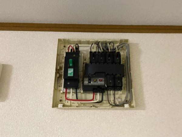 エアコン専用コンセントの設置