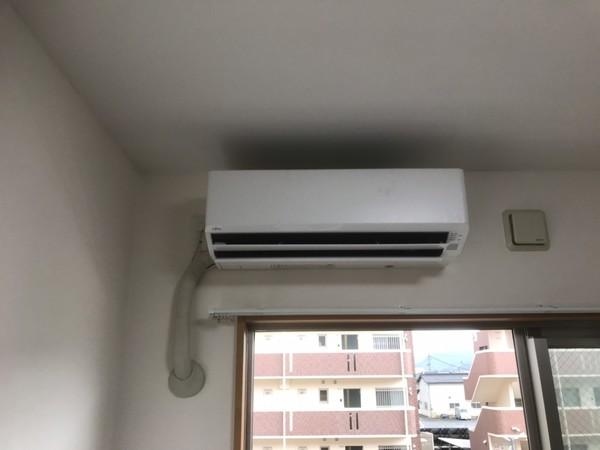 マンションのエアコン工事