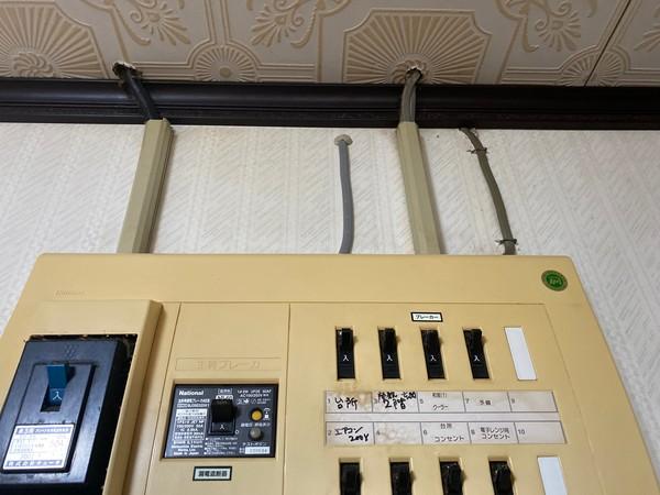 エアコン用工事+専用回路工事