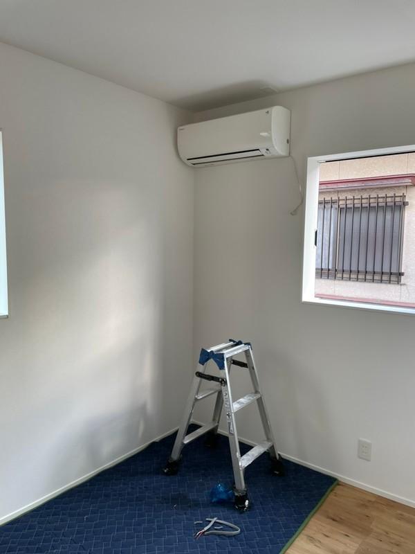 エアコン移設工事 菅様邸